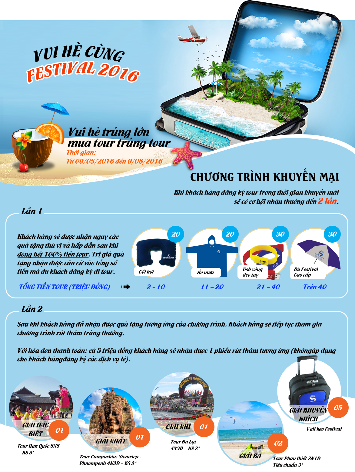 Vui hè cùng Festival 2016