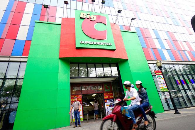 Siêu thị Big C trên đường Trường Chinh, Q.Tân Phú, TP HCM - Ảnh: Q.ĐỊNH