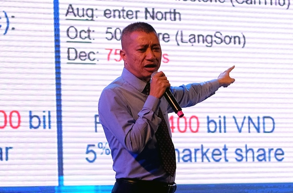 Ông Trần Kinh Doanh, CEO Thế Giới Di Động - Ảnh: H.Đ