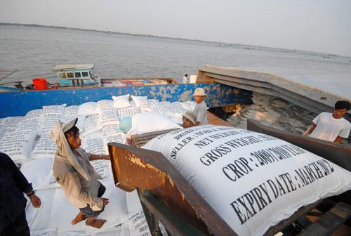 Gạo xuất khẩu của Việt Nam trong 4 tháng đầu năm 2016 tăng 13,8% về giá trị so với cùng kỳ Ảnh: Ngọc Trinh