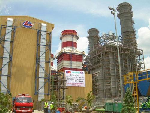Cụm Nhà máy điện Cà Mau sẽ được khai thác tối đa công suất để bù sản lượng điện thiếu hụt do cắt giảm nguồn khí Nam Côn Sơn Ảnh: DUY NHÂN