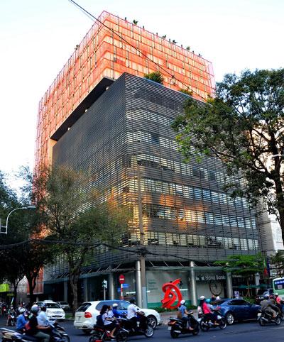 Tòa nhà văn phòng cho thuê President Place (quận 1, TP HCM) Ảnh: Tấn Thạnh