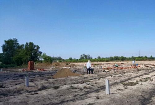 Đất phân lô ở huyện Nhơn Trạch, tỉnh Đồng Nai đã tăng giá trong 2 tháng qua