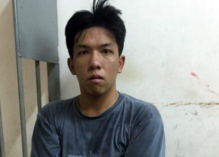 Nguyễn Phước Đạt trộm tài sản trên ô tô bị bắt quả tang.
