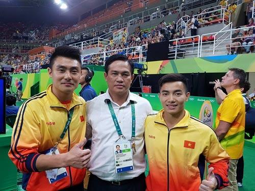 Ông Nguyễn Mạnh Hùng, Giám đốc Trung tâm Huấn luyện Thể thao quốc gia Hà Nội, tại Rio 2016. Hầu như đại hội thể thao lớn nào ông cũng góp mặt. (Ảnh do nhân vật cung cấp)
