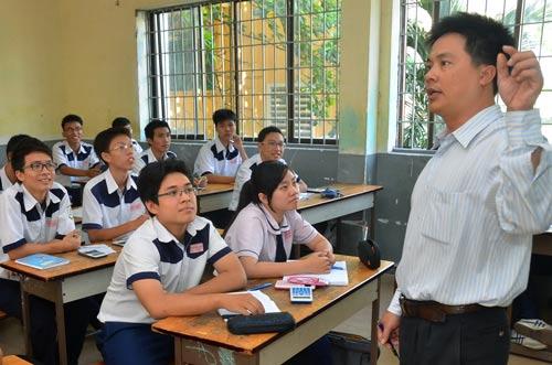 Học sinh TP HCM ôn tập, chuẩn bị cho kỳ thi THPT quốc gia 2016 Ảnh: TẤN THẠNH