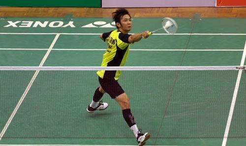 Tiến Minh chỉ có 1 giải khởi động cho Olympic Rio 2016 là Việt Nam mở rộng vào giữa tháng 7-2016 Ảnh: QUANG LIÊM