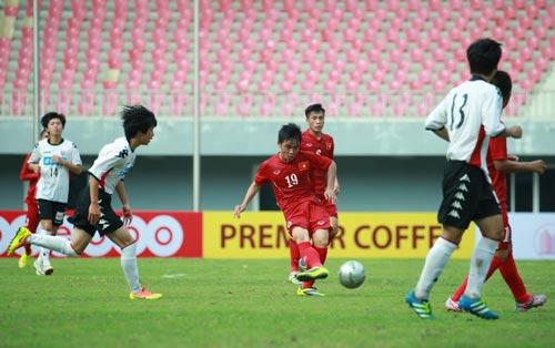 U19 Việt Nam tự tin sẽ chơi tốt trên sân nhà. Ảnh: Mộc Nghênh