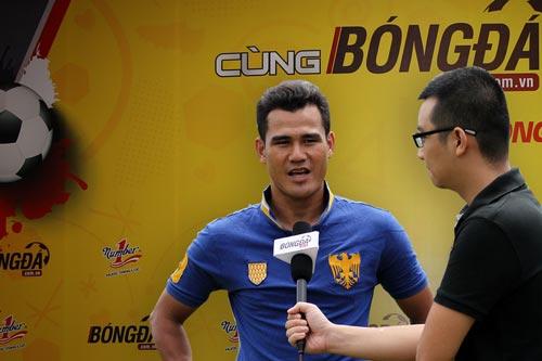 Cựu tiền đạo tuyển Việt Nam Phan Thanh Bình sẽ là 1 trong 3 bình luận viên cho trận chung kết