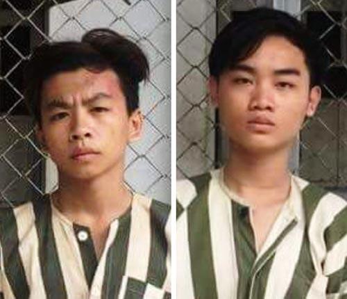 Lâm Quang Thiện (trái) và Nguyễn Hữu Thiện Long