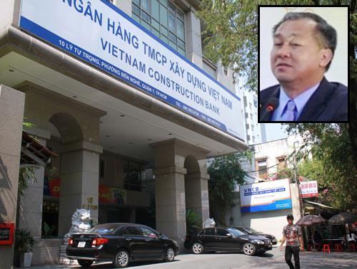 VNCB thất thoát 9.133 tỉ đồng dưới sự điều hành của Phạm Công Danh (ảnh nhỏ) Ảnh: HOÀNG TRIỀU