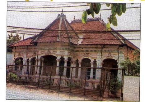 Căn biệt thự của Pháp tại số 237 Nơ Trang Long (quận Bình Thạnh) được chụp năm 2000. Ảnh tư liệu