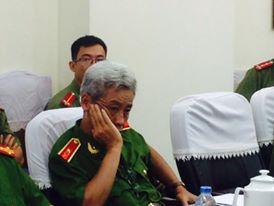 Ông Phan Anh Minh, Phó Giám đốc Công an TP HCM trong buổi họp báo