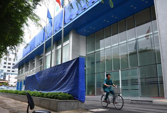 Trụ sở Ngân hàng Thương mại CP Xây dựng tại TP HCM lúc ông Phạm Công Danh làm Chủ tịch HĐQT Ảnh: TẤN THẠNH