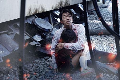 """Cảnh trong phim """"Chuyến tàu sinh tử"""" của Hàn Quốc. (Ảnh do nhà phát hành cung cấp)"""