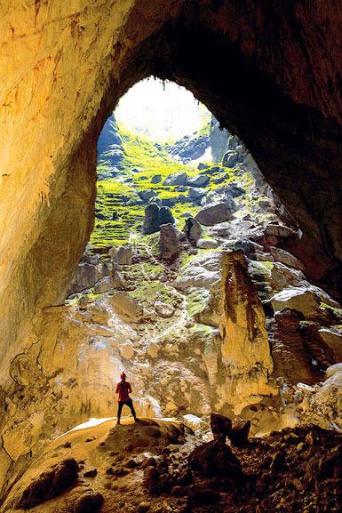 Vẻ đẹp hang Sơn Đoòng Ảnh: HOÀNG LÂM