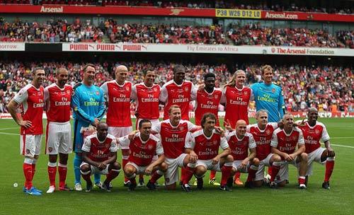 Đội hình tham dự của huyền toại Arsenal