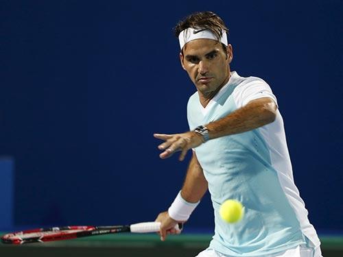 Federer là hạt giống số 1 nội dung đơn nam Giải Brisbane Ảnh: REUTERS