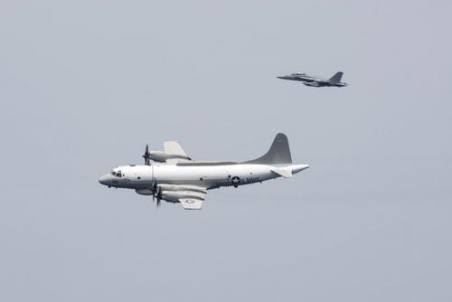 Máy bay do thám EP-3 Mỹ Ảnh: HẢI QUÂN MỸ