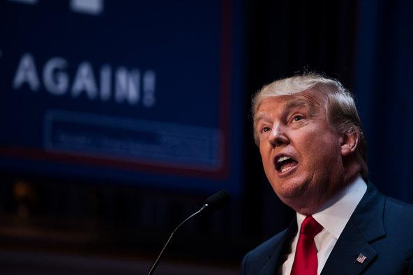 Ứng viên tổng thống đảng Cộng hòa Donald Trump. Ảnh: New York Times