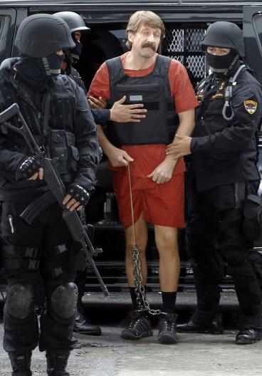 Ông trùm buôn lậu vũ khí người Nga Viktor Bout. Ảnh: Reuters