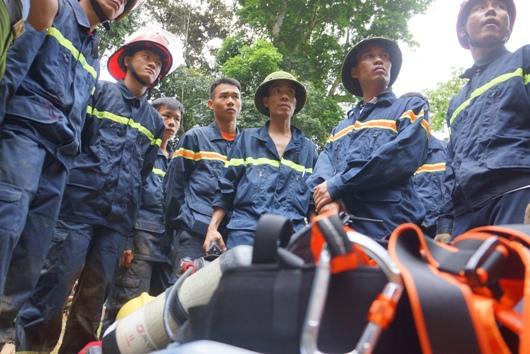 Lực lượng Phòng cháy chữa cháy tham gia cứu hộ, cứu nạn