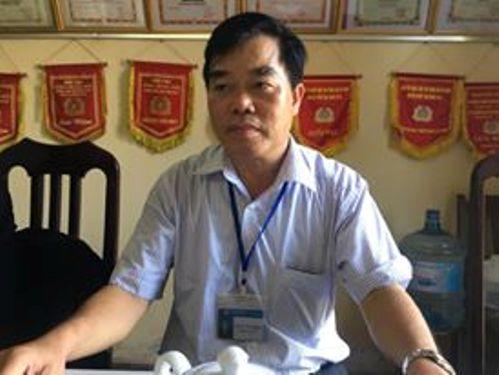 Ông Hoàng Văn Thịnh, Trưởng công an xã Xuân Phú