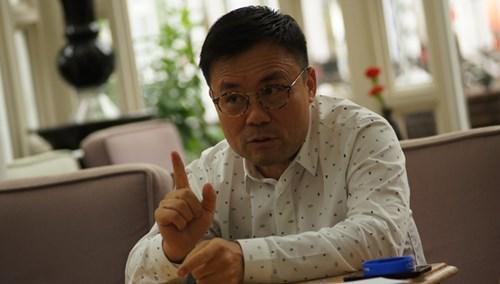 Ông Nguyễn Duy Hưng, Chủ tịch công ty chứng khoán Sài Gòn.