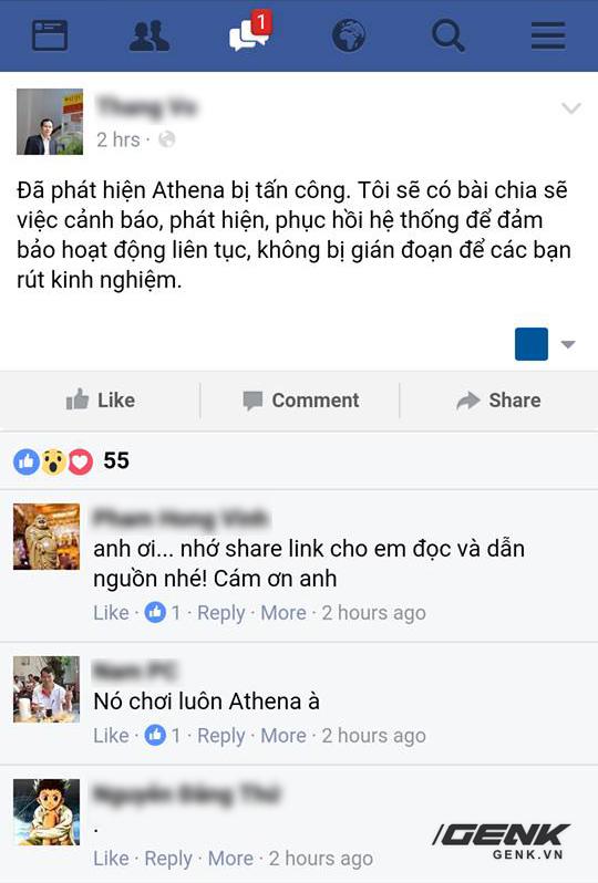CEO của Trung tâm Athena chia sẻ về tình hình.