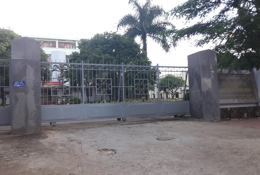 Sở NN-PTNT tỉnh Đắk Lắk nơi xảy ra vụ việc