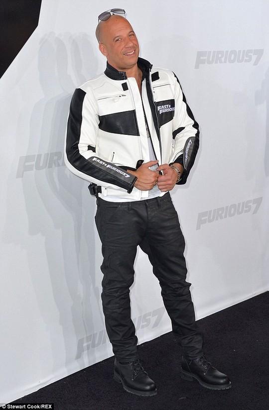 Nam diễn viên Vin Diesel ngày 3-2 xác nhận thông tin về phim Quá nhanh, quá nguy hiểm