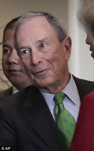Ông Michael Bloomberg xếp thứ 8 với 40 tỉ USD. Ảnh: AP