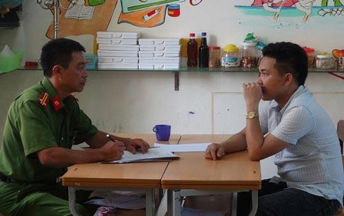 Một trong những đối tượng vừa bị bắt giữ tại tỉnh Quảng Bình vì liên quan hành vi cá độ bóng đá. (Ảnh do cơ quan điều tra cung cấp)