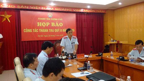 Ông Ngô Văn Khánh khẳng định việc xử lý trách nhiệm với ông Trịnh Xuân Thanh không thuộc trách nhiệm của TTCP