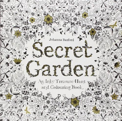 """Cuốn sách tô màu """"Khu vườn bí mật"""" (Secret Garden) - ấn bản tiếng Anh giúp giảm căng thẳng"""