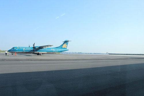 Đường băng của sân bay Cát Bi đã quá tải từ lâu - Ảnh: Trọng Đức