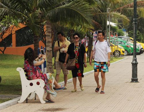Du khách Trung Quốc xuất hiện ngày càng nhiều ở TP Nha Trang, tỉnh Khánh Hòa
