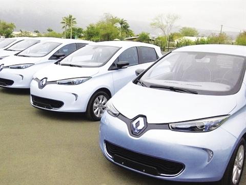 Mẫu xe mà Mai Linh nhập lần này là Renault Fluence phiên bản ZE