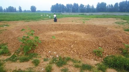 Nhà máy sản xuất xe buýt là bãi đất trống. Ảnh: NEW CHINA