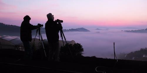 Săn sương ở ngoại ô Đà Lạt