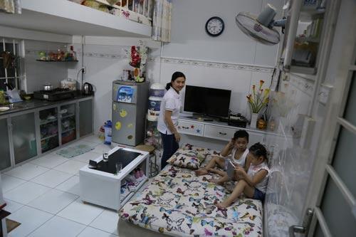 Số người nhập cư mua được nhà ở xã hội tại Bình Dương còn quá ít. Trong ảnh: Nhà ở xã hội của người dân tại khu nhà Hòa Lợi (TP Mới Bình Dương)