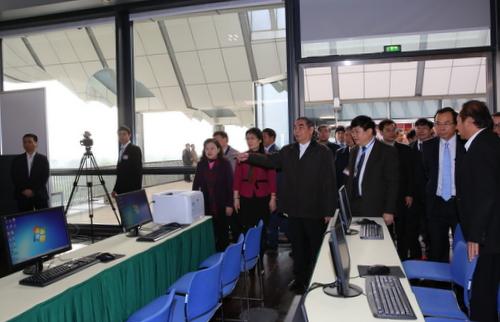 Trung tâm báo chí phục vụ Đại hội XII