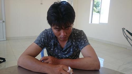Võ Thanh Phong tại cơ quan công an