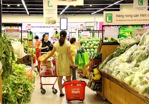 Lotte Mart hiện đã có 12 trung tâm mua sắm tại Việt Nam.
