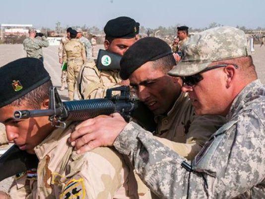 Quân đội Mỹ ở Iraq. Ảnh: Defense News
