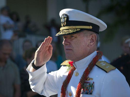 Chuẩn Đô đốc Rick Williams bị sa thải vì cáo buộc sử sụng máy tính chính phủ sai mục đích. Ảnh: U.S Navy