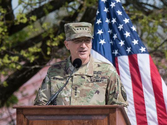 Tướng Curtis M. Scaparrotti. Ảnh: DoD