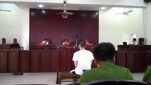 Vũ Nguyễn Trường Thiên bị ra tòa vì truy đuổi người vi phạm giao thông, dẫn đến tai nạn chết ngườiẢnh: Bảo Ngọc
