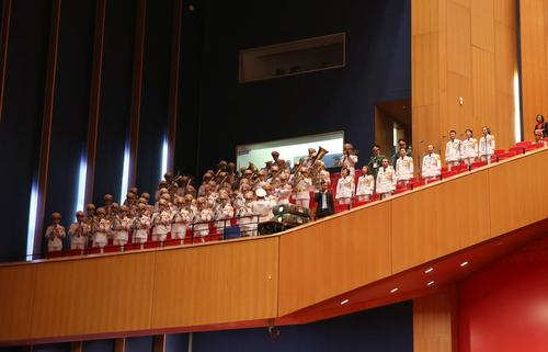 Tập dượt một số khâu trong Đại hội XII