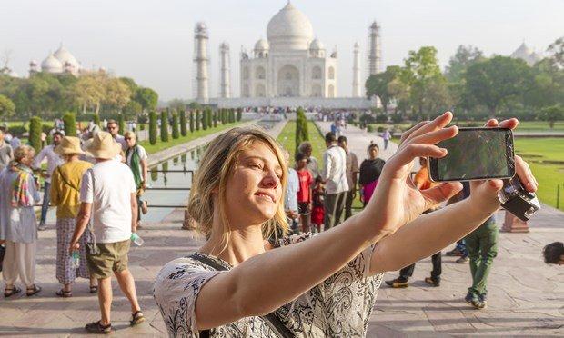 Ấn Độ có tỉ lệ thiệt mạng do chụp hình tự sướng cao nhất thế giới - Ảnh: shutterstock